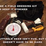 Five Tips on Field Dressing Deer