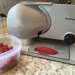 Use a food slicer to expand your venison options