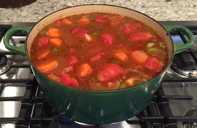 Dutch Oven Venison Stew