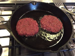 Venison Burgers – Skip the fat, use a binder