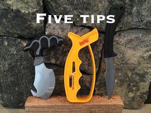 Deer Skinning Tools