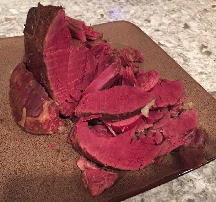 The Sirloin Tip is a great choice for corning your venison.