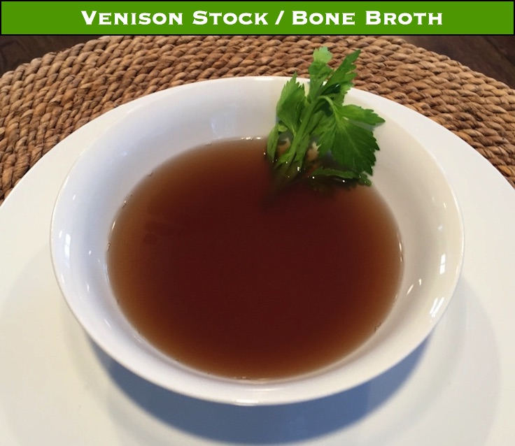 Making your own stock or broth from venison bones ensures that no part of your deer goes to waste - plus, once you've made it, you won't go back to store bought stock.