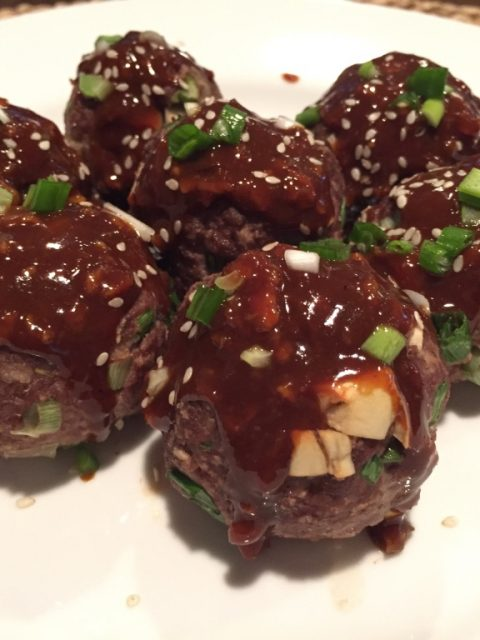 Asian Style Venison Meatballs