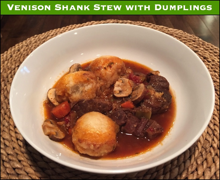 Don't send your shanks to the grinder! A slow cooked stew with venison shanks will taste way better than any hamburger - and make fuller use of the shanks as well.