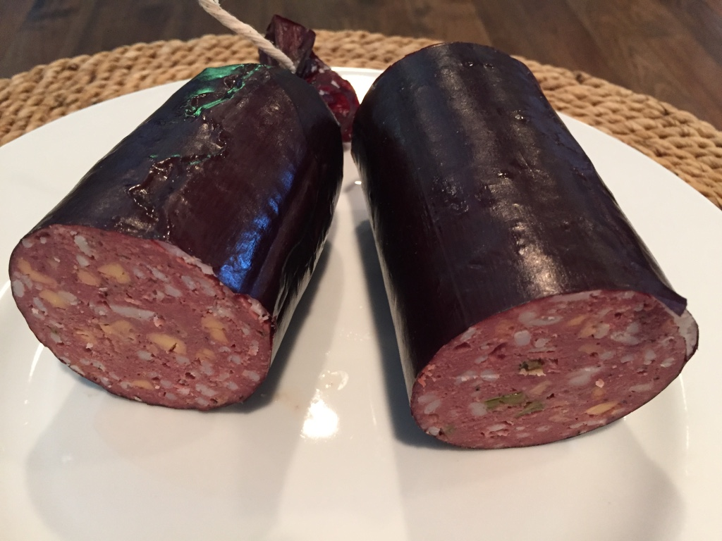 Venison Summer Sausage – Jalapeño and Cheddar, and Fat?