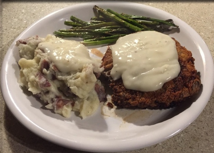Chicken Fried Venison