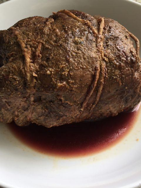 Venison Rotisserie Roast