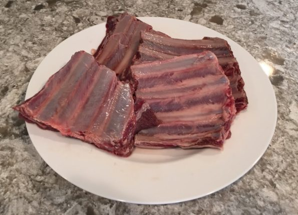how to cook venison ribs in the oven