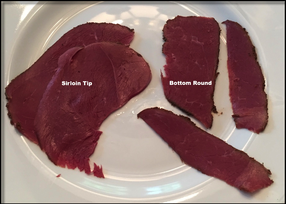The choice of roast you pick will influence the size of the slices you can cut.